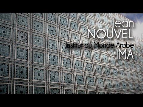 Jean NOUVEL - inštitút arabského sveta- IMA Institut du Monde Arabe
