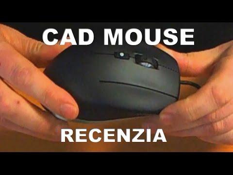CAD Mouse - Praktická video recenzia CAD myši