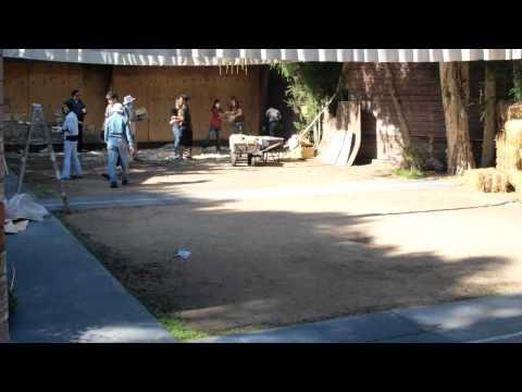 Rancho Park Archery Wall - No More Phone Books! (Part 1)