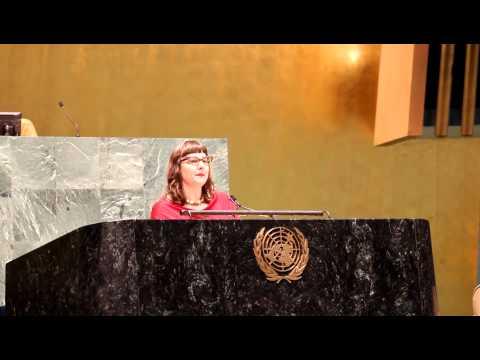 Dr. Ethel Brooks, 2013 Holocaust Rememberance Ceremony - UN New York