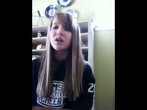 Me singing Born to be Somebody by Justin Bieber