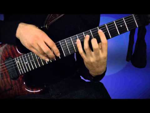 JS Bach, Invention 3 on 7 String Guitar BWV 774