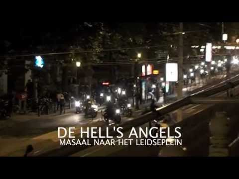 Dutch Hells Angels in show of force