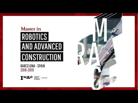 Master in Robotics and Advanced Construction - MRAC