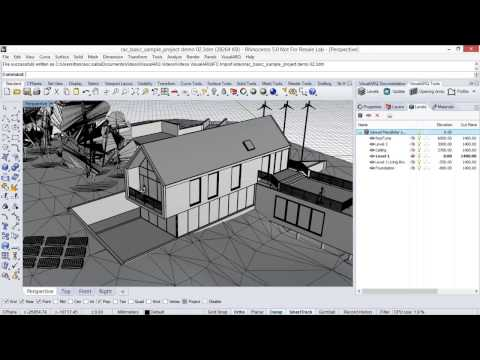 IFC Import & Export from Revit to Rhino and from Rhino to Revit