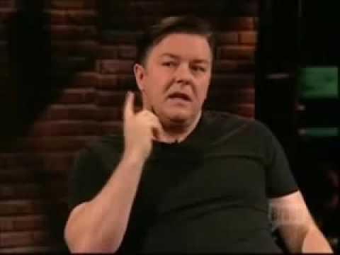 Ricky Gervais on Atheism