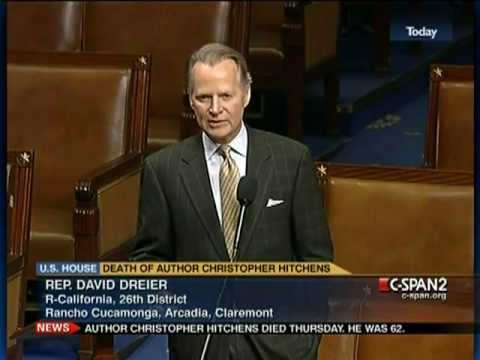 Congressmen pay tribute to the great Christopher Hitchens