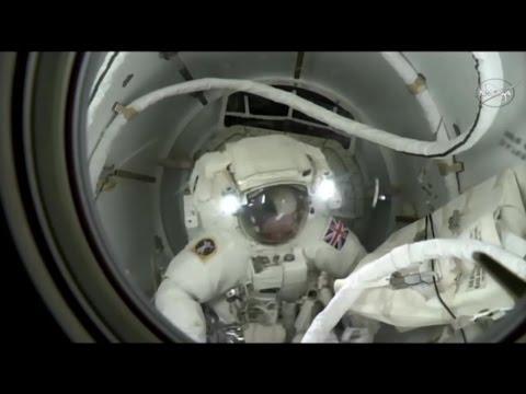 [ISS] Highlights from Spacewalk with Tim Peake & Tim Kopra