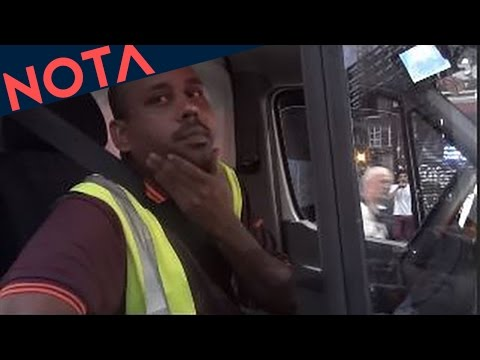 Black Lives Matter UK Activists Obstruct Black Driver