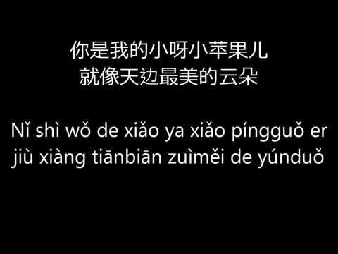 Chopstick Brothers     筷子兄弟    Little Apple  小苹果 lyrics, pinyin
