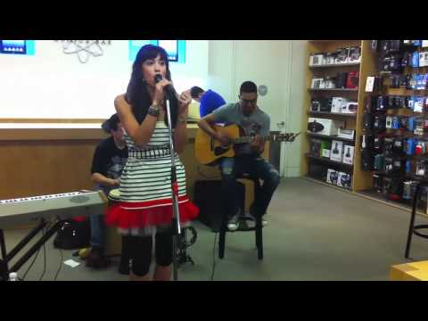 Apple Store live music event