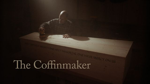 Perspective on life from a coffinmaker