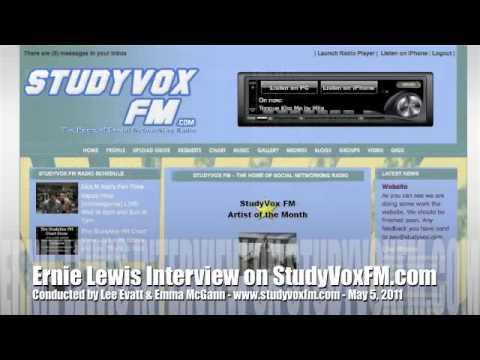 StudyVox Interview - Ernie Lewis, May 5, 2011