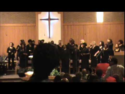 """Dorothy Mitchell singing """"Trust Him"""" from her """"New Life"""" cd with Knoxville's City Wide Women's Choir"""