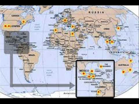 Organizing This World Map