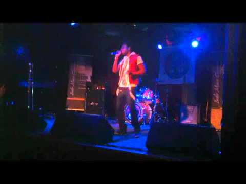 Crissanji Performing Ridin' on E and whip it at the Indie Music Revolution Tour