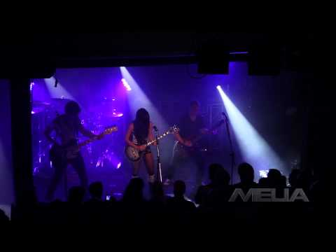 """Melia / Opening for Steve Vai / Opening Guitar Solo and """"Checking Out"""" by Melia"""