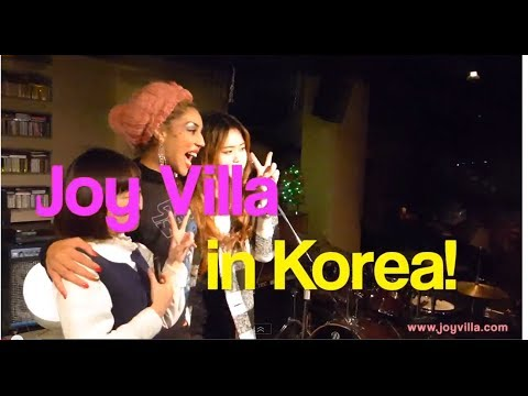 Joy Villa Sings in Korea!