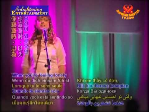 You are Beautiful-Catherine Manna: Supreme Master Television 2nd Anniversary 2008