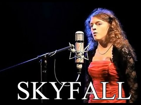 SKYFALL ~ James Bond 007 Theme ~ ADELE ~ Anastasia Lee