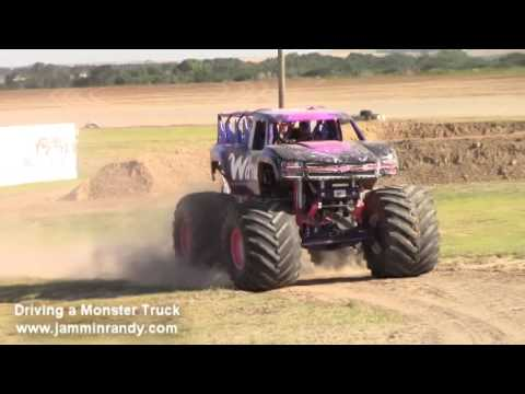 Driving A Monster Truck