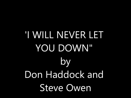 Movie - I Will Never Let You Down- 2017