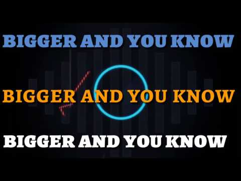 BIGGER AND YOU KNOW (OFFICIAL LYRIC VIDEO) REVIVAL TRAIN FEAT MICHAEL HIM AND MR MARCUS YORK
