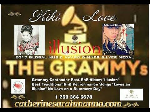 GRAMMY 60 CONTENDER FOR NOMINATION 'KIKI LOVE' ILLUSION''