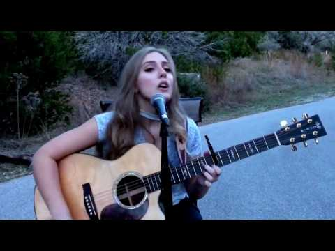 Landslide Dixie Chicks Stevie Nicks cover by Kayla Outlaw