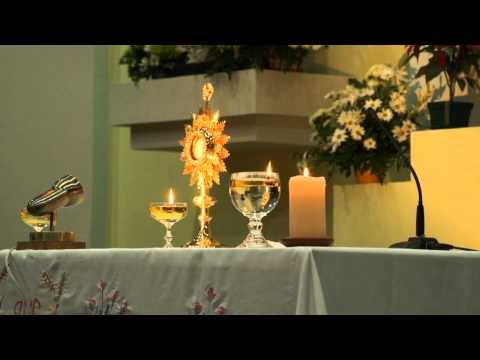Oración de sanación ante el Santísimo expuesto