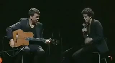 Guy Sings Like a Guitar