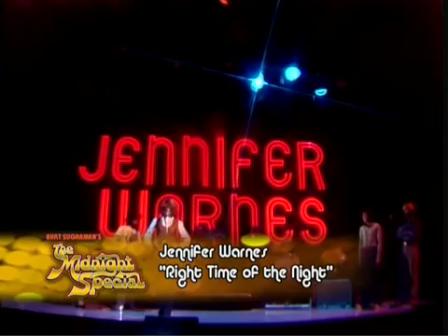 Jennifer Warnes - Right Time of the Night