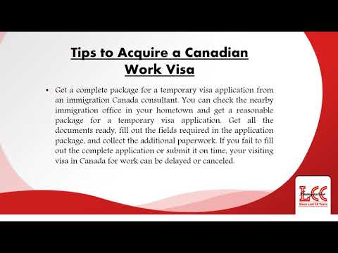 Essential Tips for Acquiring Work Visa to Canada