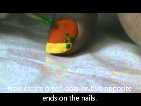 Tribal Nail Easy Nail Art Design for Beginners- Easy Nail Design For Really Short Nails