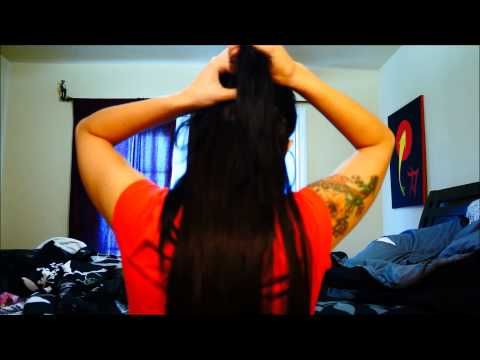 HAIR SECRETS clip in hair extension REVIEW and DEMO
