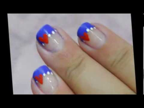 Simple French Tip Valentine's Day Tutorial