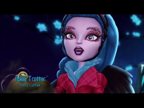 Monster High Avea Trotter Freaky Fusion Makeup Tutorial