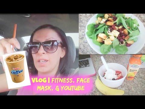 VLOG | 5/24 - 6/4  | Fitness, Face Mask, + YouTube