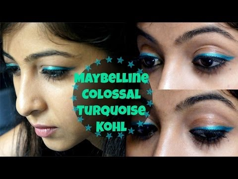 Maybelline New York Colossal Turquoise Kohl.