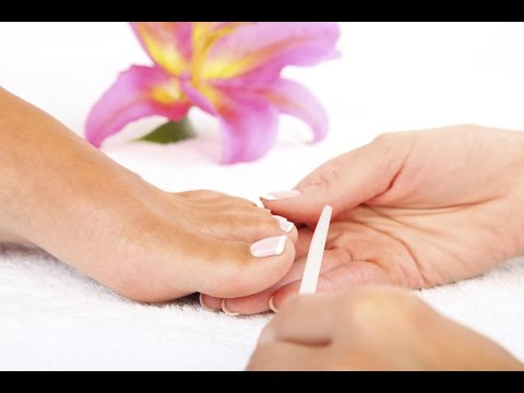 How I cut and file my toe nails