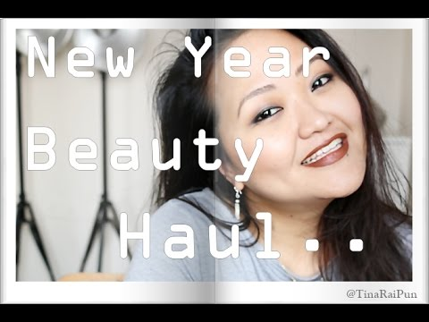 India Beauty Haul! Vero Moda, The Body Shop, Estee Lauder & More - Tina Rai Pun