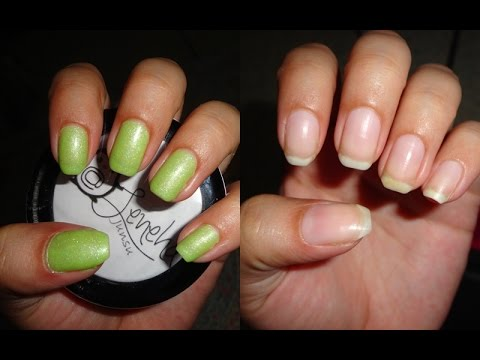 How I remove gel polish at home+Damage Free in 2 minutes