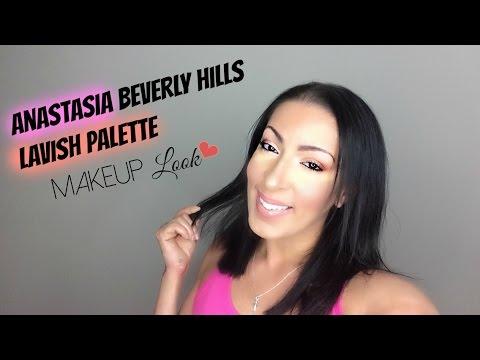 Anastasia Beverly Hills | Lavish Palette Makeup Look