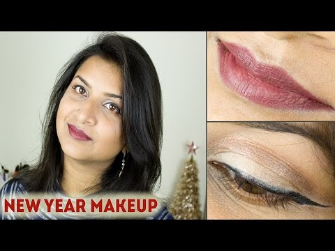 New Year Makeup Look