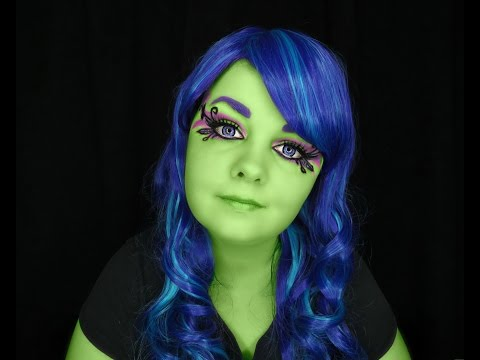 Monster High Amanita Nightshade Scream And Sugar Makeup Tutorial