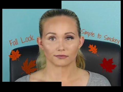 Fall Simple into Smokey look