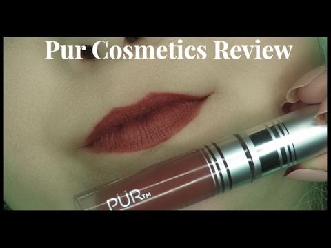 PUR Cosmetics Velvet Matte Liquid Lipstick in Innocent | Review