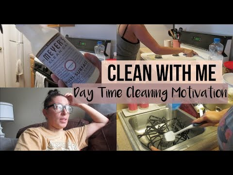 Clean With Me | Day Time Cleaning Motivation | Vlog Style
