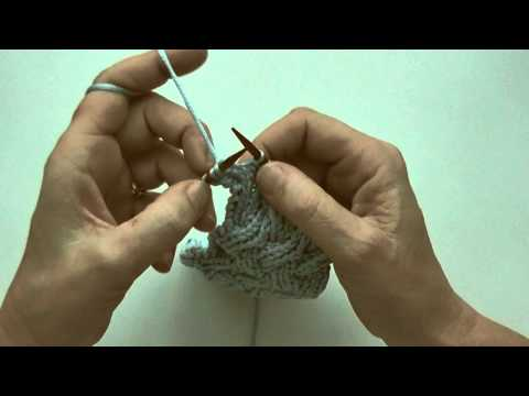 Stricken lernen * Stricken in die Gegenrichtung * Von links nach rechts stricken