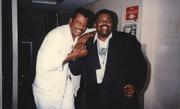 The late Ali Woodson (Temptations) and Aubrey BET Summerfest 1996